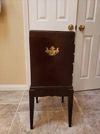 vintage stand up jewelry box
