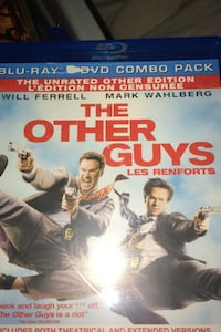 blue ray disk and dvd combo of the Other Guys  Abbotsford