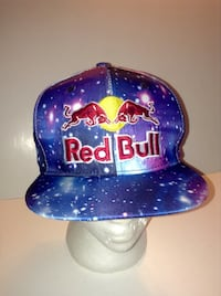 Red Bull Flat Brim Snapback Cap London