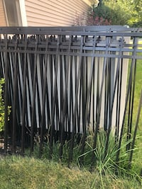 Aluminum 5' fence sections each Cornwall, 17042