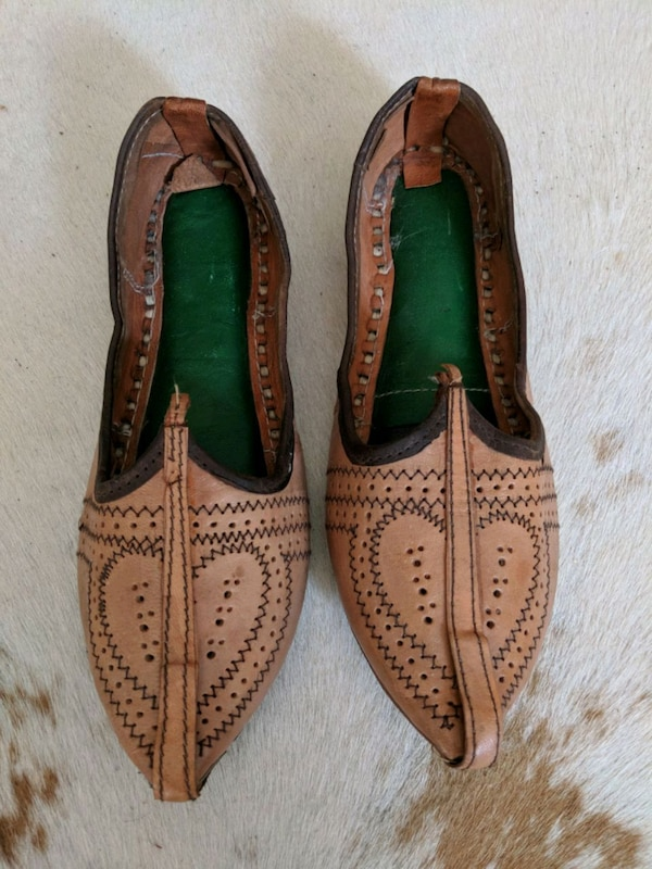 a126731c023f Used Indian leather shoes size 9 for sale in Montréal - letgo