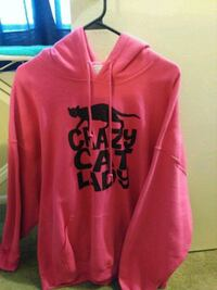Crazy Cat Lady Pink Brand New Hoodie Harford County, 21085