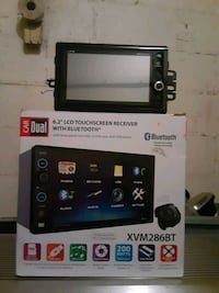 Dual touch screen TV
