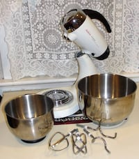 Sunbeam Heritage Series Stand Mixer, White 2350 .. was 149.99. Like new. Heavy metal meets classical design and performance. The Sunbeam Heritage Series Stand Mixer is built on the tradition of lasting quality and performance using die-cast metal construc Bristol, 19007