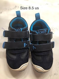 Leather baby shoes 8.5 US