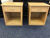 Pair of Lightwood night stands Virginia Beach, 23462