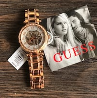 GUESS Rose Gold Automatic watch Newark, 07104