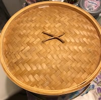 Bamboo 12-inch food steamer basket Arlington, 22205