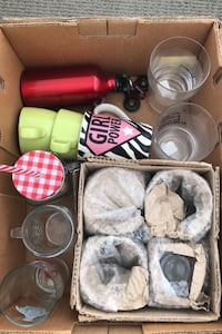 New and used glassware- $5 for everything. Toronto, M5V