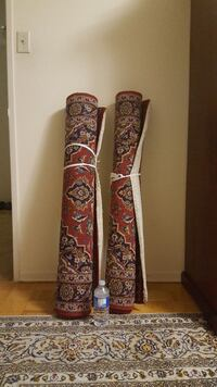2 persian ruge (Hand made)from tabriz Toronto, M3C