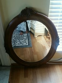 Beautiful round mirror  Sterling