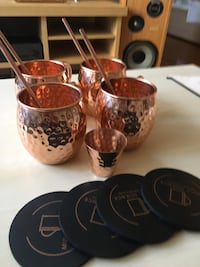 100% copper Mule Science moscow mule mugs Alexandria, 22314