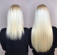 Tape Hair Extensions, Install,cut & style 399 Mississauga