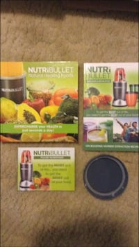 Magic bullet books and lid