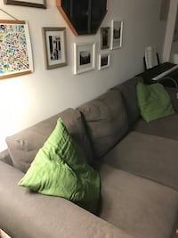 IKEA couch in warm grey. Great quality !