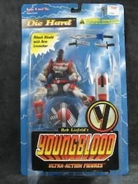 Younblood action figure  *DIE HARD