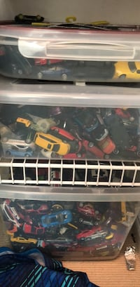 3 bins of toy cars Vancouver, V6G