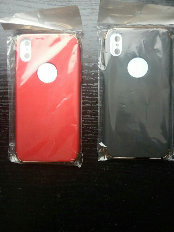 2x iphone X case for 8£
