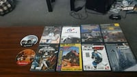 assorted Sony PS2 games Dartmouth, B3A 4C1