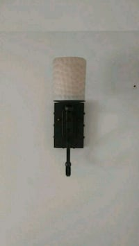 Antique brushed bronze wall sconce