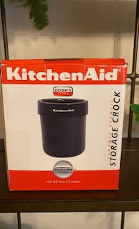 Brand new Kitchen aid utensil storage crock for miscellaneous gadgets