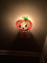 Pumpkin night light New!  Essex, 21221