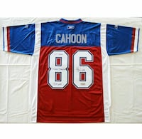 Ben Cahoon #86 — SIGNED — Montreal Alouettes Home
