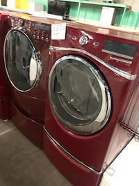 Mix and match front load washer and dryer set