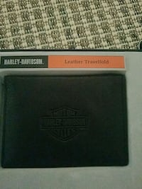 Harley Davidson leather wallet- NEW
