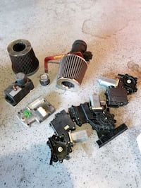 Various parts used on a 1995 jetta vr6