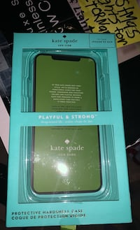 Kate Spade Floral Clear Iphone XSMax Iphone cover 3Ft drop protection Derry, 03038