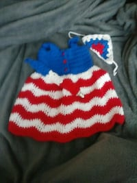 Handmade fourth of July dress Imperial, 63052
