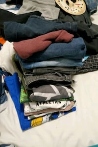 Boy clothes size 10 and some r small