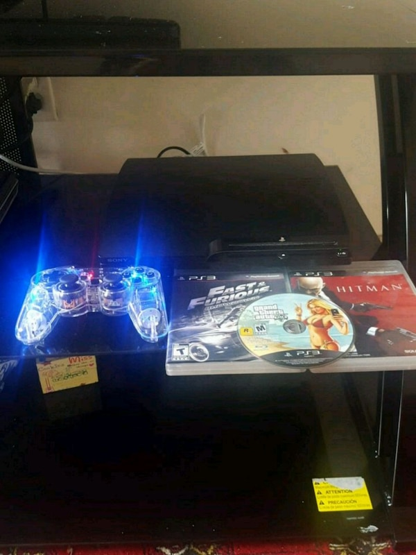 Ps3 wite gta5 hit man and more