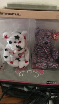 2 Collector beanie bears in cases Lancaster, 93536