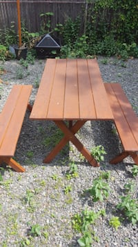 Picnic Table and benches WOBURN