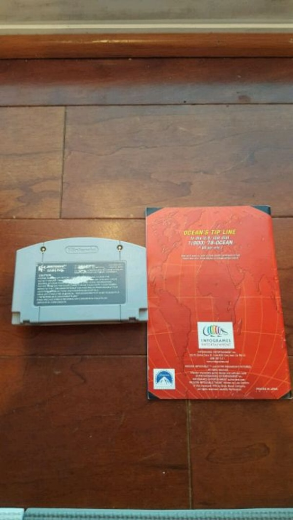 Nintendo Mission Impossible N64 1
