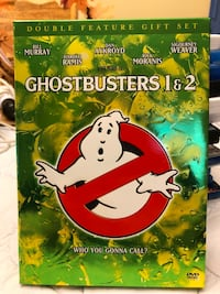 Ghostbusters 1 and 2 DVD.