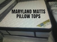 queen size white Maryland mattress
