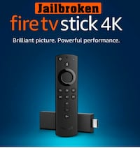 Amazon Fire TV Stick 4K with 2nd Generation Alexa Voice Remote Ellicott City, 21043