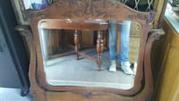 Antique dresser mirror dated 1892 Sooke, V9Z