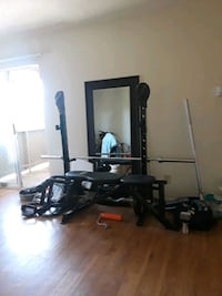 Weight bench with accessories  Dallas, 75231