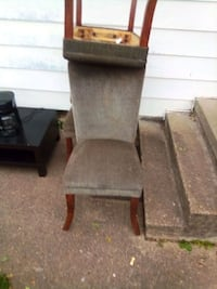 3 high back chairs