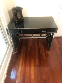 Faux Bamboo Black Lacquered Desk New Orleans, 70118