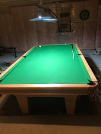 League size pool table. Red Deer, T4P 0G3