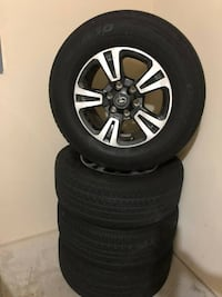 "2018 Toyota Tacoma 17"" rims and tires Las Vegas, 89178"
