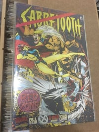 Marvel 1996 X-Men Sabretooth #Special Event January In the Red Zone Kadikoy, 34740
