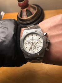 Audemars Piguet AP white dial mens watch Toronto, M1L 2K1