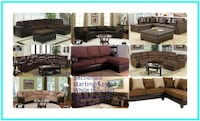 Sectional With reversible chaise end BRAND new Columbus