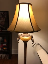 Gold floor lamp and table lamp Washington, 20500
